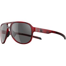adidas Pacyr Cykelglasögon grå/röd